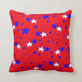 Patriotic Stars Cushion