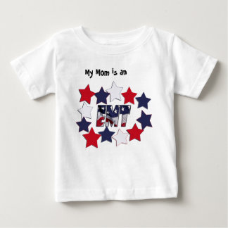 PATRIOTIC STARS EMT - EMERGENCY MEDICAL TECHNICIAN BABY T-Shirt