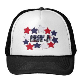 PATRIOTIC STARS EMT-P EMERGENCY MED TECH PARAMEDIC CAP