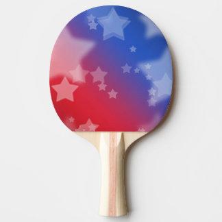 Patriotic Stars Ping Pong Paddle