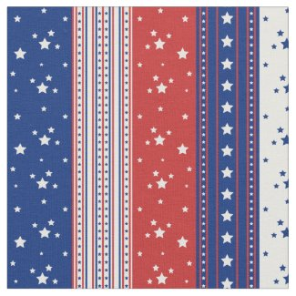Patriotic Stars & Stripes Abstract American Flag 2