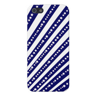 Patriotic Stars Stripes Freedom Flag 4th of July Cover For iPhone 5