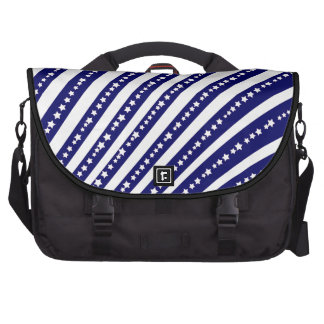 Patriotic Stars Stripes Freedom Flag 4th of July Commuter Bags