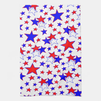 Patriotic Stars Tea Towel
