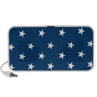 Patriotic stars travel speaker