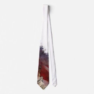 Patriotic Statue of Liberty Tie