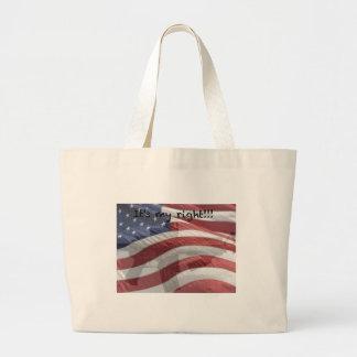 Patriotic t-shirts, mouse pads, mugs, etc. jumbo tote bag