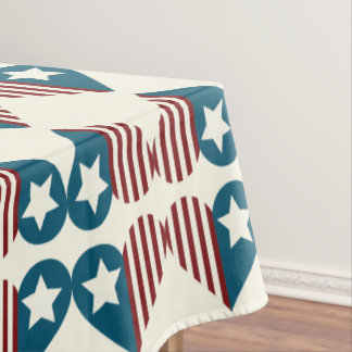 Patriotic Table Cloth | 4th of July Decoration