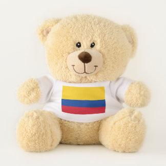 Patriotic Teddy Bear flag of Colombia