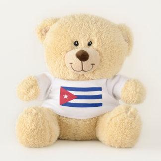 Patriotic Teddy Bear flag of Cuba