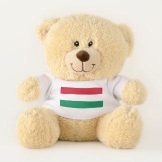 Patriotic Teddy Bear flag of Hungary