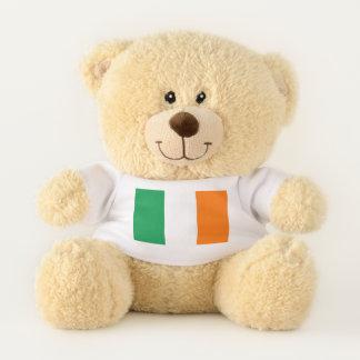 Patriotic Teddy Bear flag of Ireland