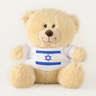 Patriotic Teddy Bear flag of Israel