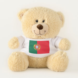 Patriotic Teddy Bear flag of Portugal