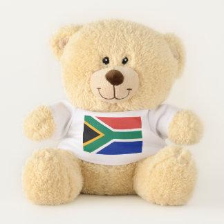 Patriotic Teddy Bear flag of South Africa