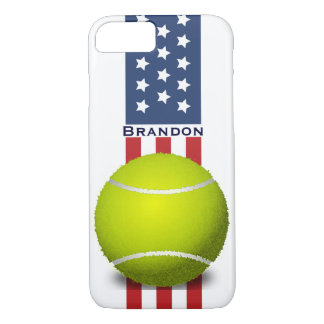 Patriotic Tennis Design iPhone 7 Case