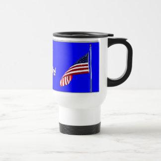 Patriotic Thanks Thermal Mug