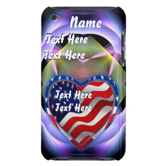Patriotic Theme Important See Notes iPod Touch Case