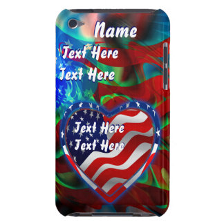 Patriotic Theme  Important See Notes iPod Case-Mate Case