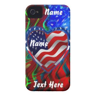 Patriotic Theme Please View Notes iPhone 4 Cases