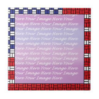 Patriotic Ceramic Tiles