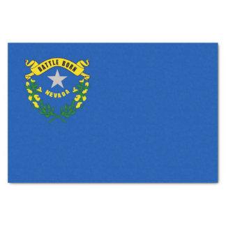 Patriotic tissue paper with flag Nevada, USA