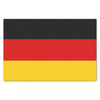 Patriotic tissue paper with flag of Germany