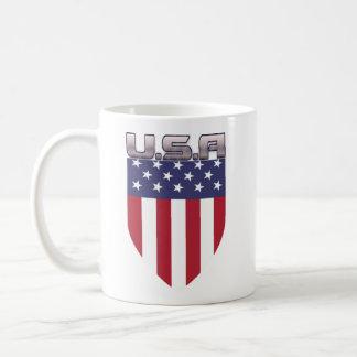 Patriotic U S A Mug