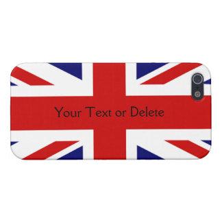 Patriotic Union Jack British Flag of England Case For iPhone 5/5S