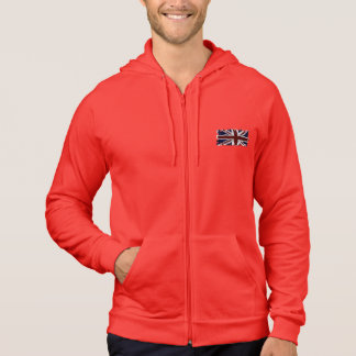 Patriotic Union Jack, UK Union Flag, British Flag Hoodie