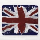 Patriotic Union Jack, UK Union Flag Mouse Mat