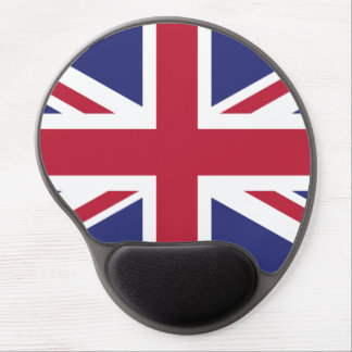Patriotic United Kingdom Flag Gel Mouse Pad