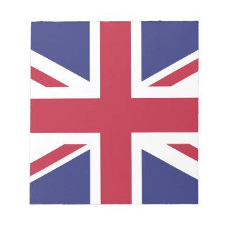 Patriotic United Kingdom Flag Notepad