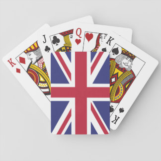 Patriotic United Kingdom Flag Playing Cards