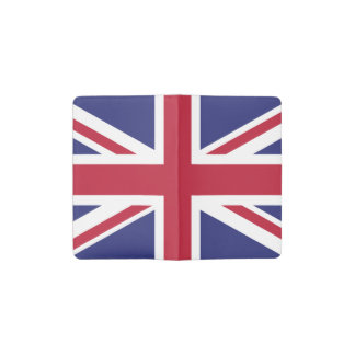 Patriotic United Kingdom Flag Pocket Moleskine Notebook