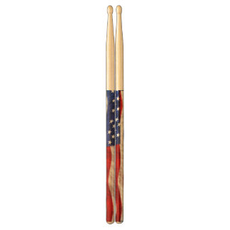 Patriotic US Flag United States Drumsticks