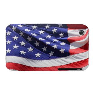Patriotic USA American Flag Photo iPhone 3 Case