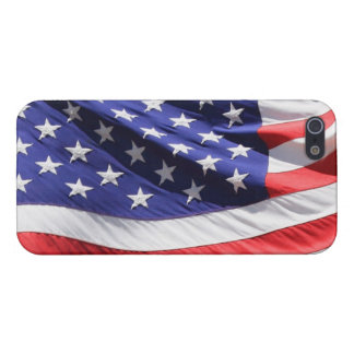 Patriotic USA American Flag Photo iPhone 5/5S Cover