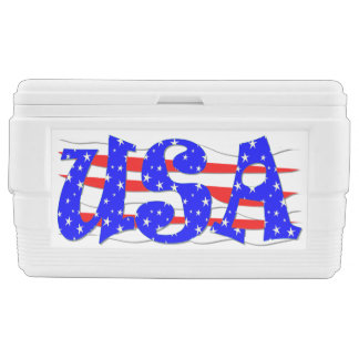 Patriotic USA Ice Chest