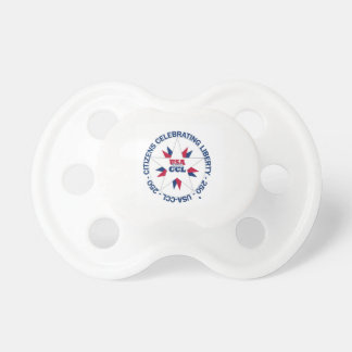 Patriotic USA Pacifier - USA's 250th - CCL B-day