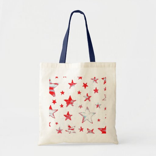Patriotic USA Red, White and Blue Bag