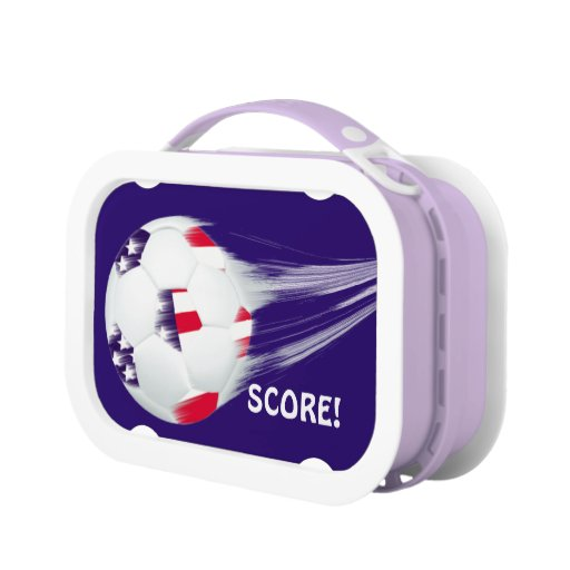 Patriotic USA Soccer Lunchboxes