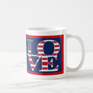 Patriotic Valentine's Day Coffee Mug