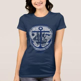 Patriotic Vintage Grunge Flag of Anchorage Alaska T-Shirt
