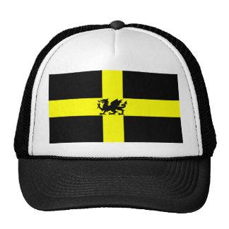 Patriotic Wales St Davids Day Dragon on Hat