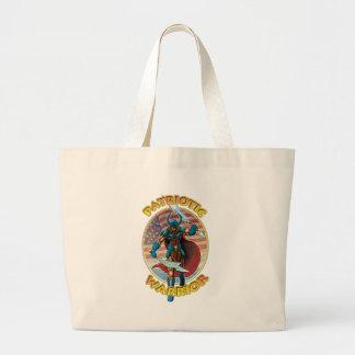 Patriotic Warrior Canvas Bags