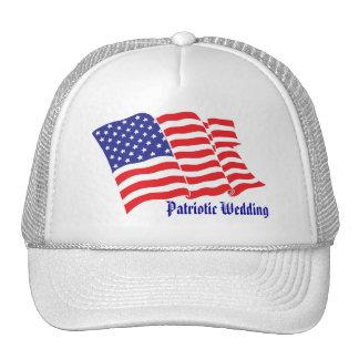 Patriotic Wedding Trucker Hat