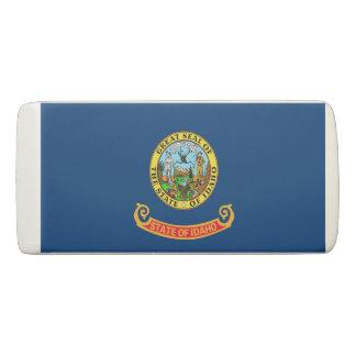 Patriotic Wedge Eraser with flag of Idaho