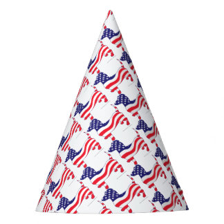 Patriotic-Weiner Party Hat