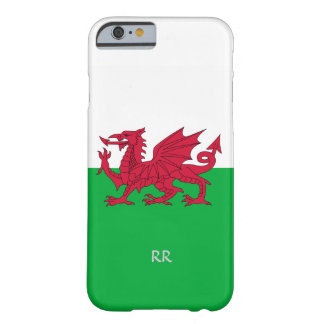 Patriotic Welsh Flag Design iPhone 6 Case